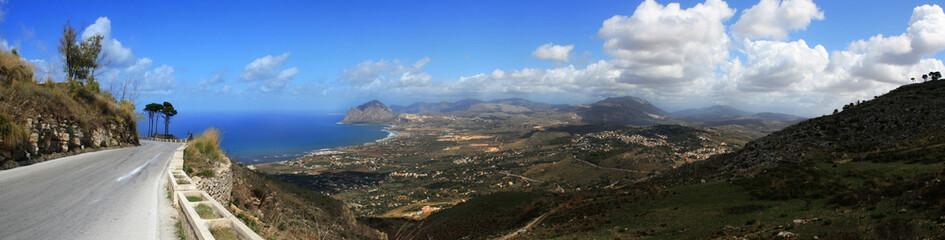 Vista Panoramica del monte cofano