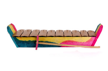 Indonesian traditional music instrument toy