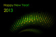 "Vector green ""snake"" background (2013-year of the snake)"