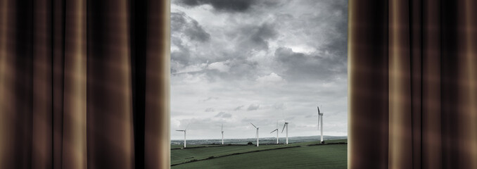 wind farm view