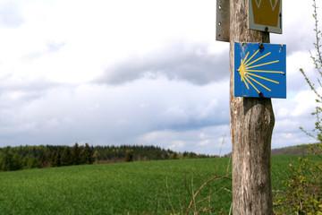 Wegweiser - jakobsweg