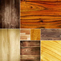 wood grain collage