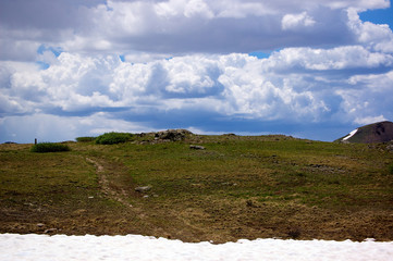 Storm Clouds Over the Continental Divide 2