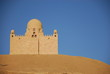 islamic mosque in the desert in egypt