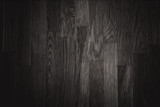 black wall wood texture background vector