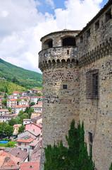 Castle of Bardi. Emilia-Romagna. Italy.