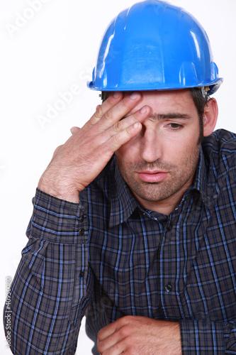Engineer with a headache