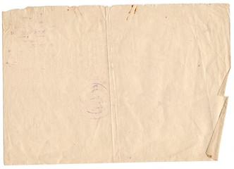 Old paper background. Vintage paper background.