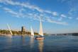 Falucca on the Nile River, Aswan, Egypt