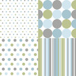 seamless patterns, polka dots