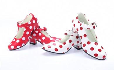 Polka dots Shoes.