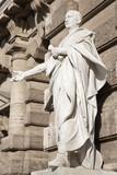 Rome - Cicero - facade of Palazzo di Giustizia