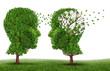 Leinwandbild Motiv Living With A Dementia Patient
