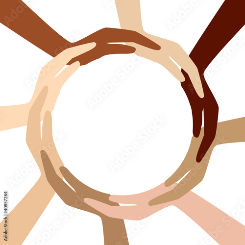 circle from different hands
