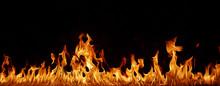 "Постер, картина, фотообои ""Flammen Panorama"""