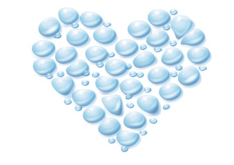 Herz, Liebe, Wasser