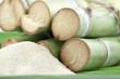 canne à sucre et sucre de canne en poudre