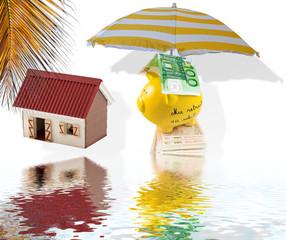 concept retraite sous le soleil des tropiques