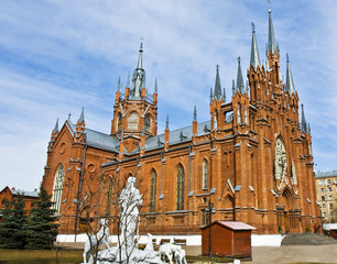Moscow, catholic cathedral of St. Mary