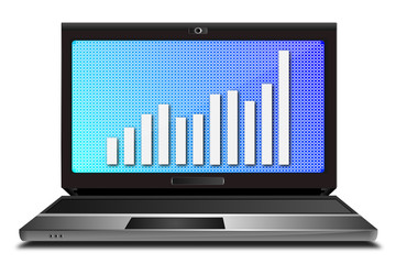 Laptop Monitor positiver Chart