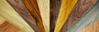 different wood grains