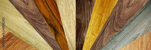 different wood grains