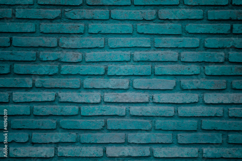 colorful brick wall