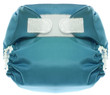 Eco Friendly Blue Cloth Diaper with Hook and Loop Closure