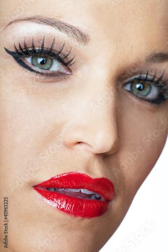 rote lippen von artburger lizenzfreies foto 40963225 auf. Black Bedroom Furniture Sets. Home Design Ideas