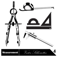Vector illustration. Measurement