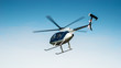 Leinwandbild Motiv Hubschrauber