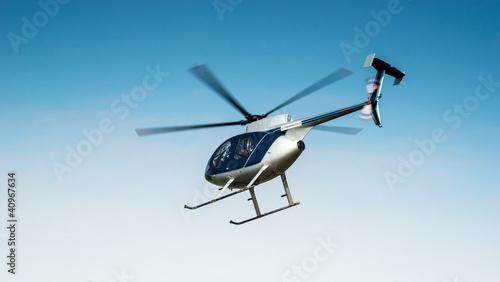Leinwanddruck Bild Hubschrauber