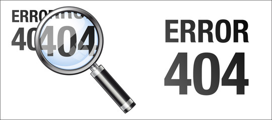error 404 à la loupe