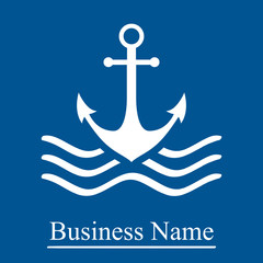 Schifffahrt, Anker - Firmenzeichen