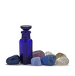 Healing Crystals and Essential Oils Bottle