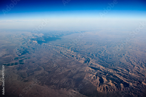 Earth viewed from the air