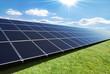 solar panels row - 40970806