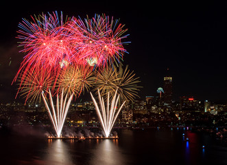 Fourth of July Fireworks in Boston