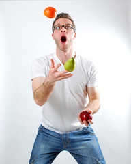 Juggling Fruit