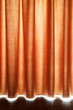 Brown Stage Curtain