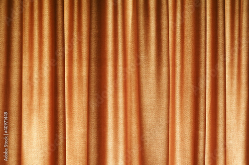 Brown Curtain Pattern