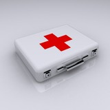 First aid kit (render)