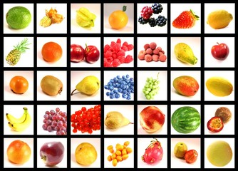 Fruits from around the world