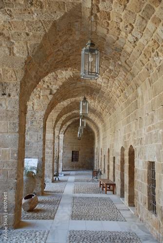 Entrance to Khan el- Franj , Sidon (Lebanon)