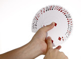 Deck of Cards in hand