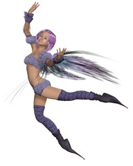 Fairy in Purple