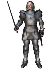 Elderly Mediaeval Knight
