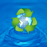Protect the World from pollution by reduce reuse and recycle
