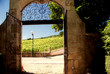 Gate to wine paradise