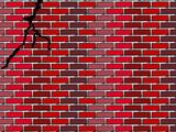 Mur fissure poster